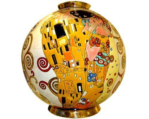 Boule Midi (Hommage à Klimt) - Tradition, Art Déco et Editions Spéciales/Hommage à Klimt - Emaux et Faïences de Longwy