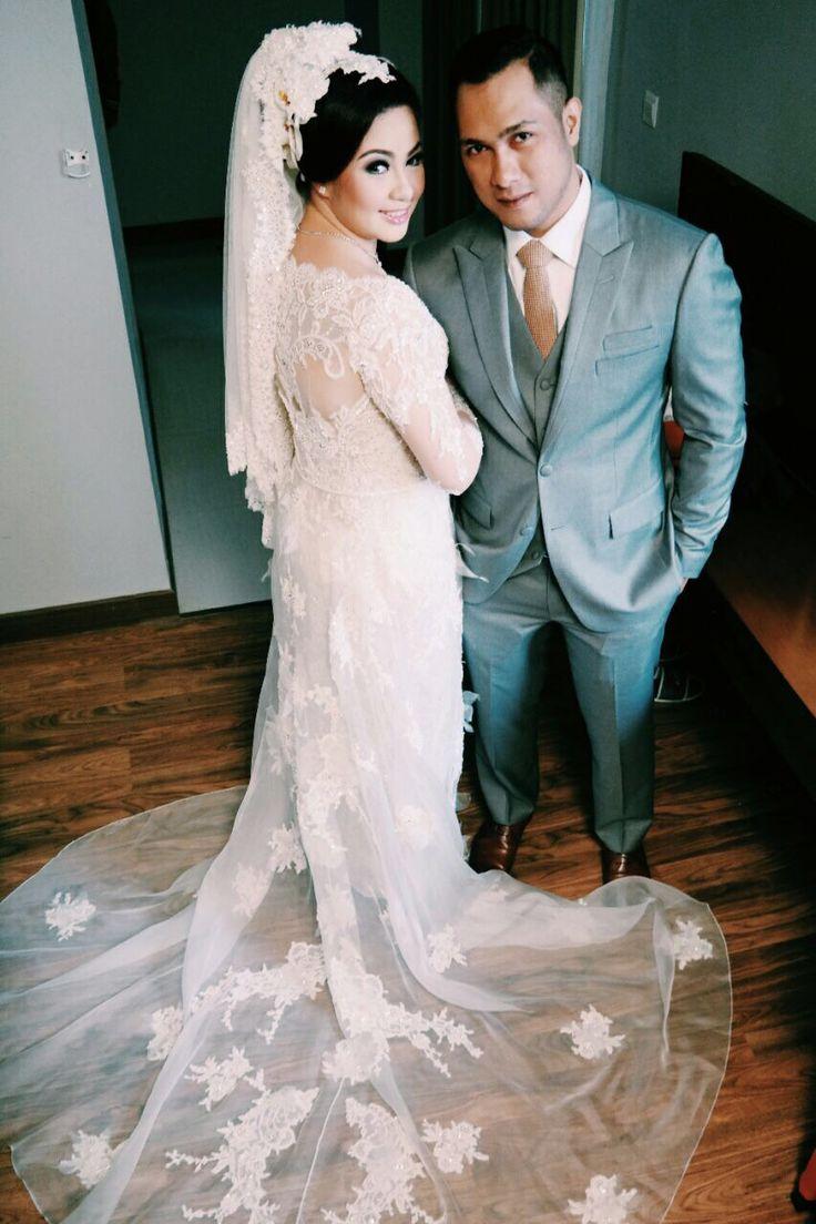 My wedding kebaya dress by didiet maulana  perfect!