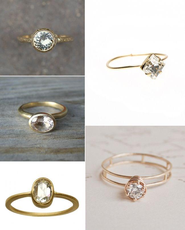 Organic Engagement Rings, Organic Wedding Rings