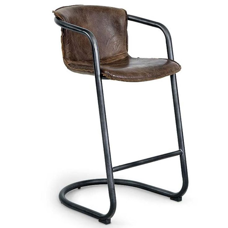 Regina Andrew Vintage Whiskey bar stool is the vintage touch you've been looking for to add to your bar! #PeaceLoveAndDecorating #vintage #barstool