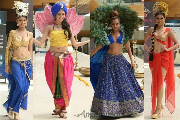 Femina Miss India 2016 Contestants Dazzle in National Costume
