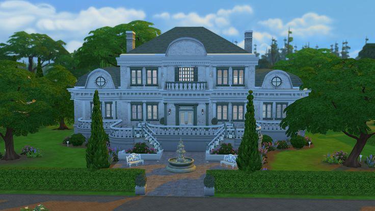 Mejores 75 im genes de mansiones en pinterest casas de for Sims 2 mansiones y jardines