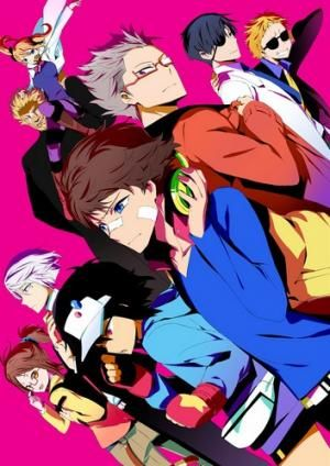 Anime:Hamatora:The Animation Genre:Supernatural,Action,Comedy Story:There are a few special people called Minimum Holders in the world that have supernatural abilities.Nice,a Minimum Holder,along with his partners,Murasaki and Hajime,run a private investigation agency called Hamatora. Age Recommended:14+