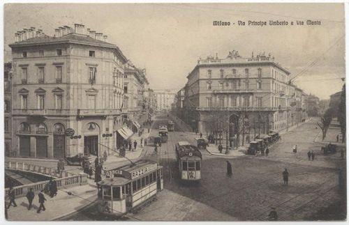 Milano - via principe Umberto