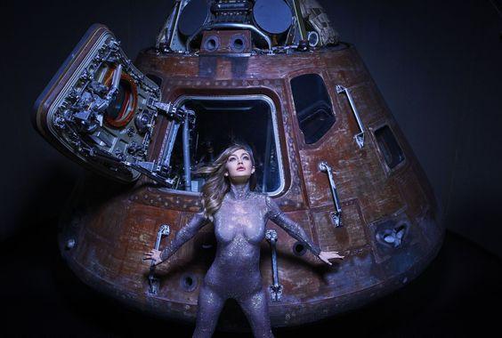 'Gigi's Space Odyssey' - Harper's Bazaar US June/July 2017