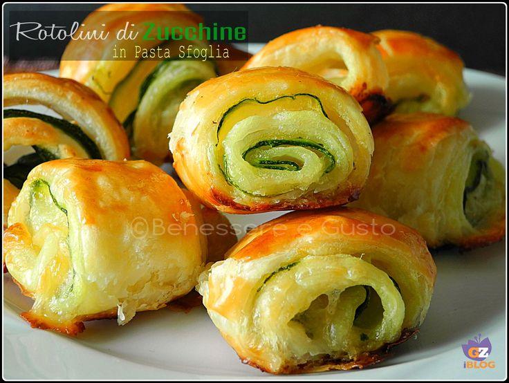 Rotolini di Zucchine in Pasta Sfoglia ricetta sfiziosa