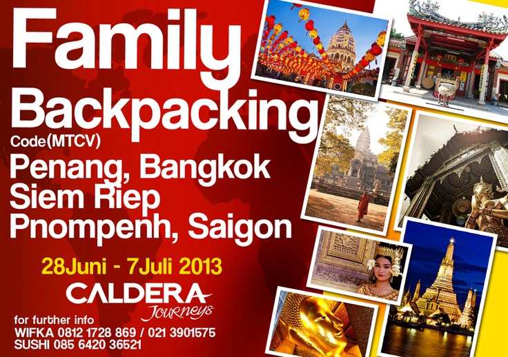 Family Backpacking #2 : Malaysia - Cambodia - Thailand - Vietnam