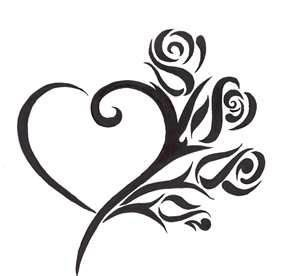 Heart Tattoo Design - see more designs on http://thebodyisacanvas.com