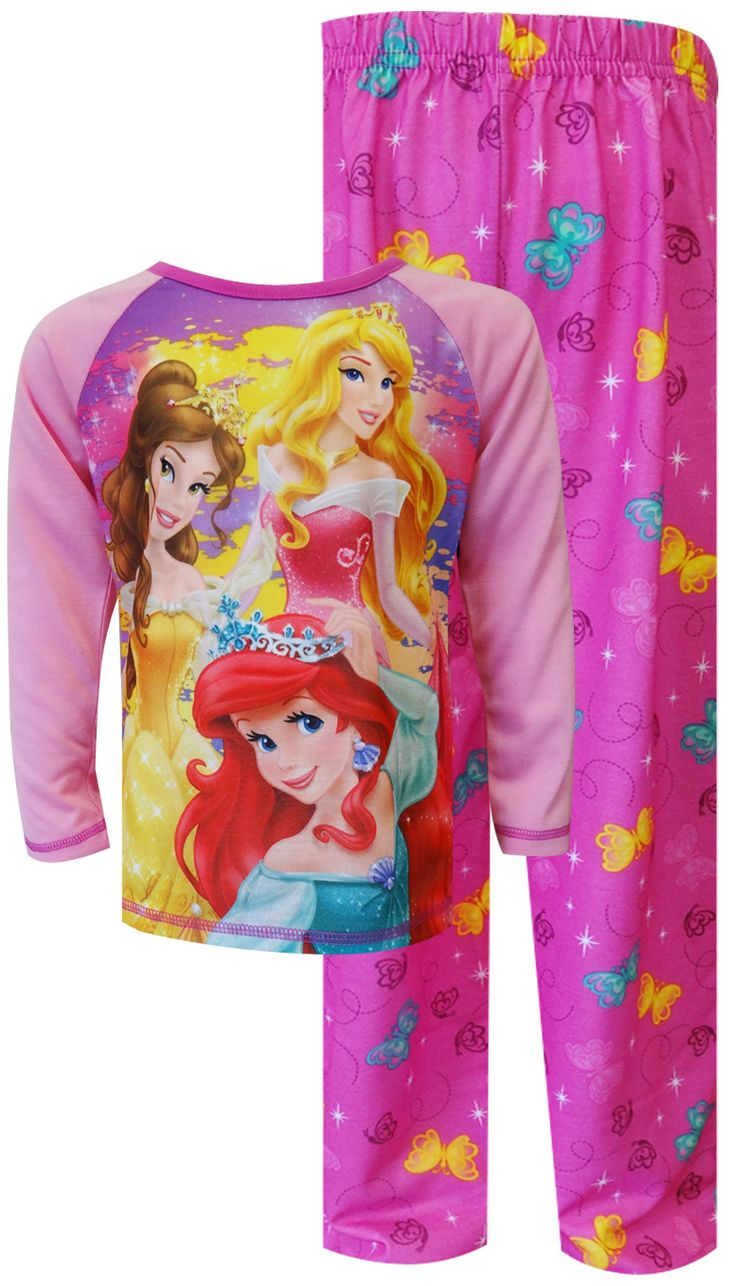 Disney princesses ariel sleeping beauty and belle pajamas girl 39 s undies pjs pinterest - Robe jasmine disney ...