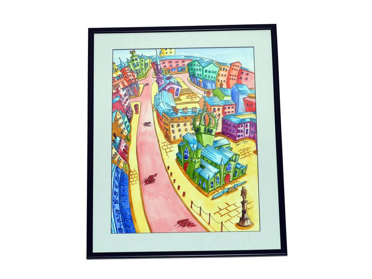 Funky Royal Mile  Edinburgh Artwork