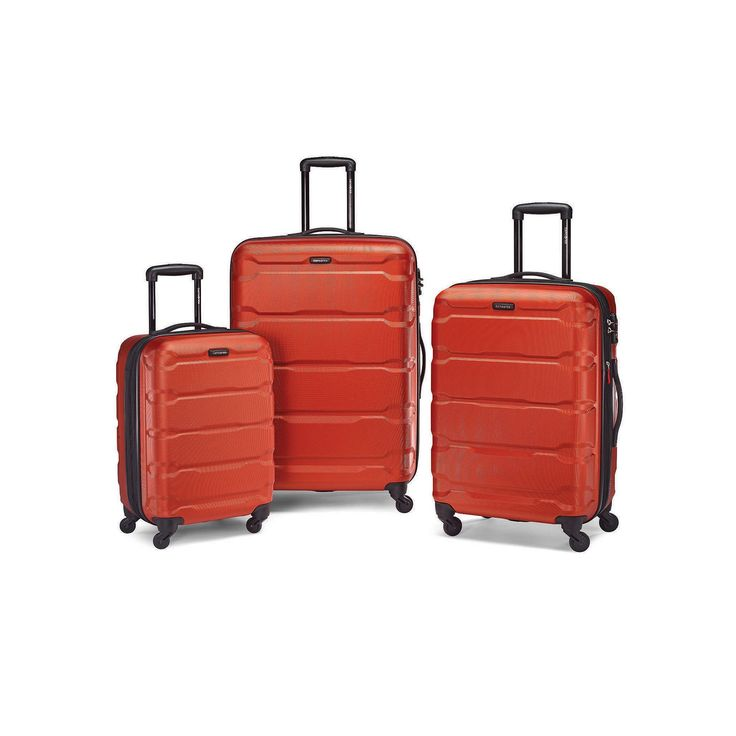 Samsonite Omni PC Hardside Spinner Luggage, Drk Orange