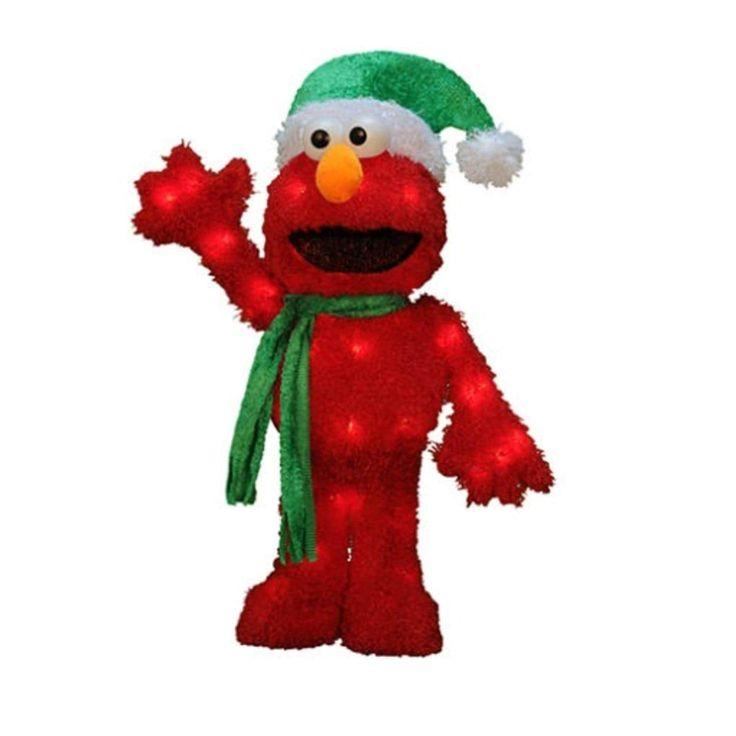 18 Magical Christmas Yard Decorations: 25+ Unique Elmo Christmas Ideas On Pinterest