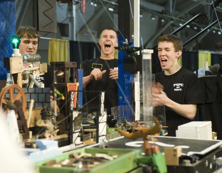 Rube Goldberg Contest at Purdue University