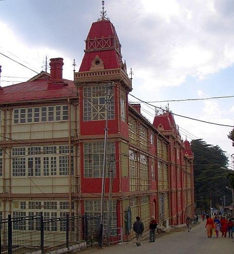 The old Railway Board Building, Shimla