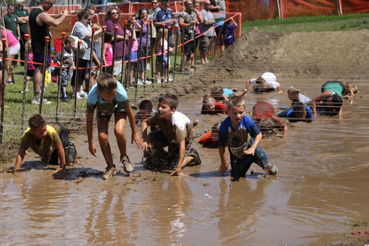 Shawnee Mountain's Kidz Mini Mud Run! #ShawneeMudRun #PoconoMtns