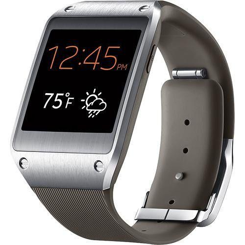 NEW Samsung Galaxy Gear SM-V700 Mocha Grey Watch Smartwatch Brand New