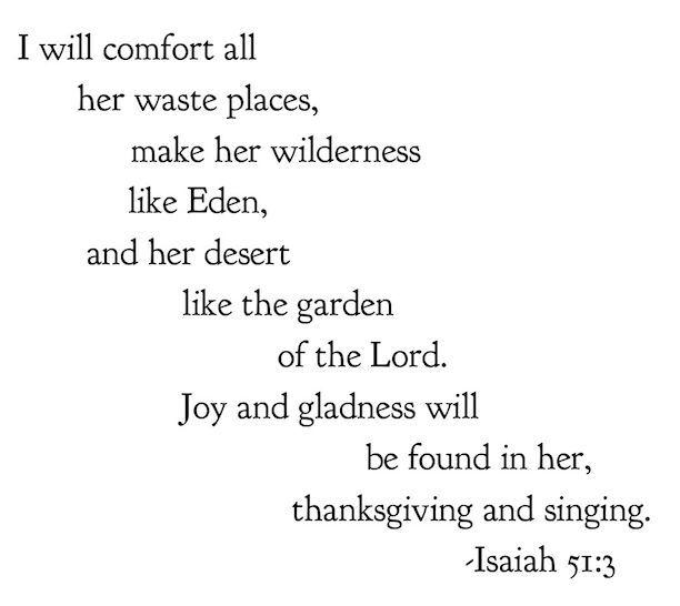 Isaiah 51:3