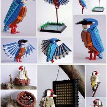 Awesome LEGO Birds…for Gea