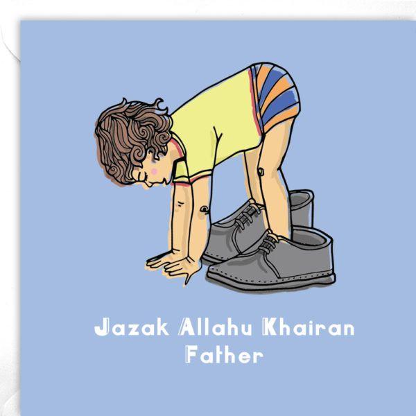 Jazak Allahu Khairan Father