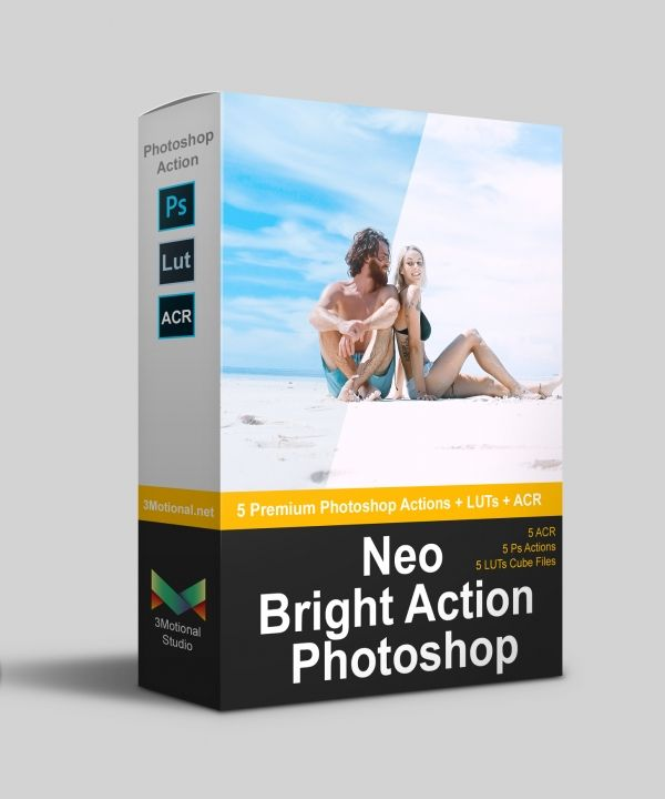 Neo Bright Photoshop Actions LUTs ACR in 2019 | www