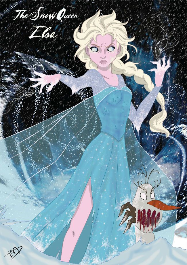 Twisted Disney Princesses – 9 Pics