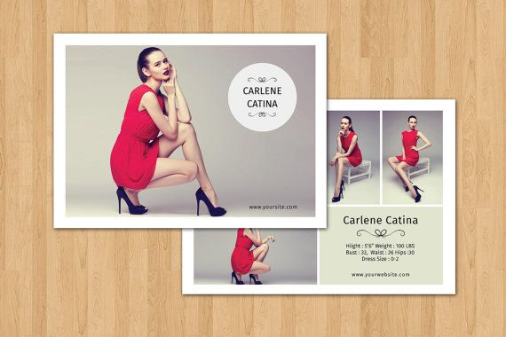 free comp card template - 61 best model comp card template images on pinterest