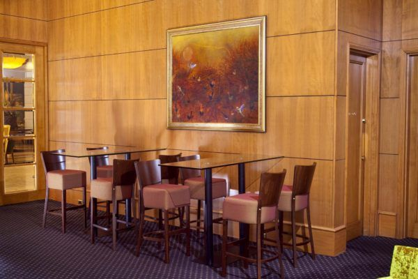 Duxton Hotel Lobby Bar | Furniture Options. Martini Deluxe Bentwood Timber Stools.