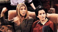 gif mine friends F.R.I.E.N.D.S Phoebe Buffay Joey Tribbiani chandler bing rachel…