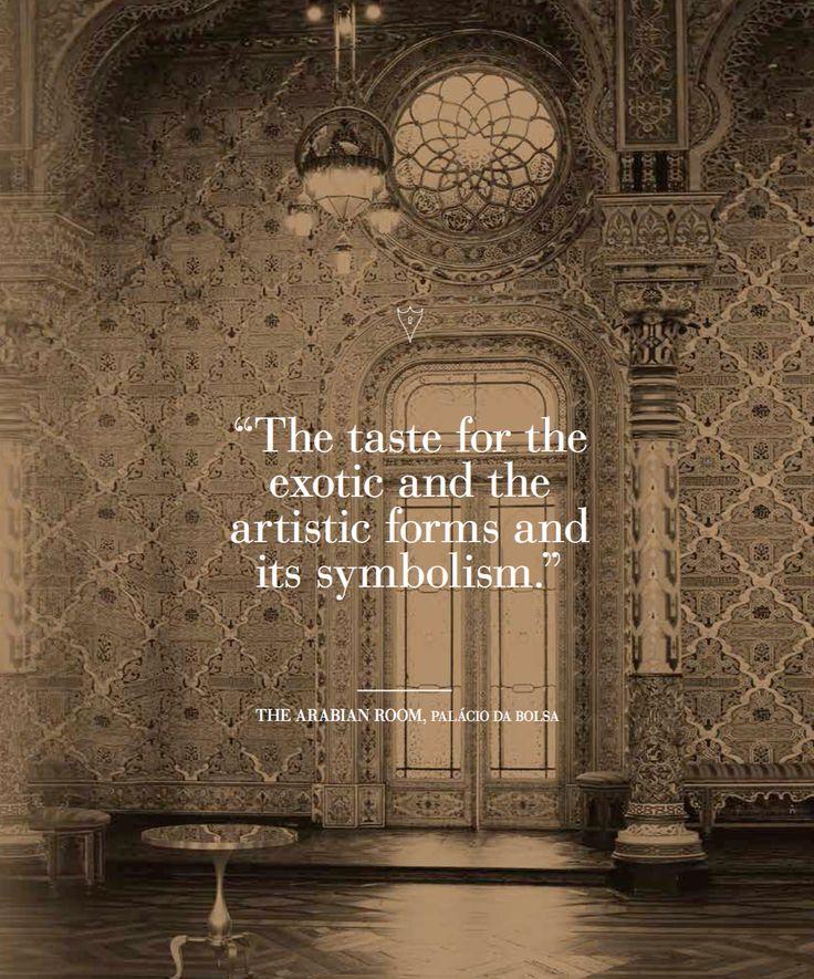 The Arabian Room, Palácio da Bolsa   Inspiration