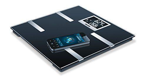 Beurer BF 700 Pèse-Personne Impédancemètre: Connexion innovante entre le smartphone etle pèse-personne Grâce à la technologie…