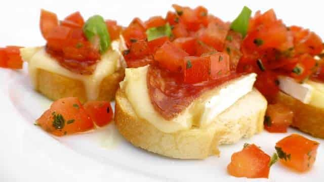 Recipe For Bruschetta with Brie