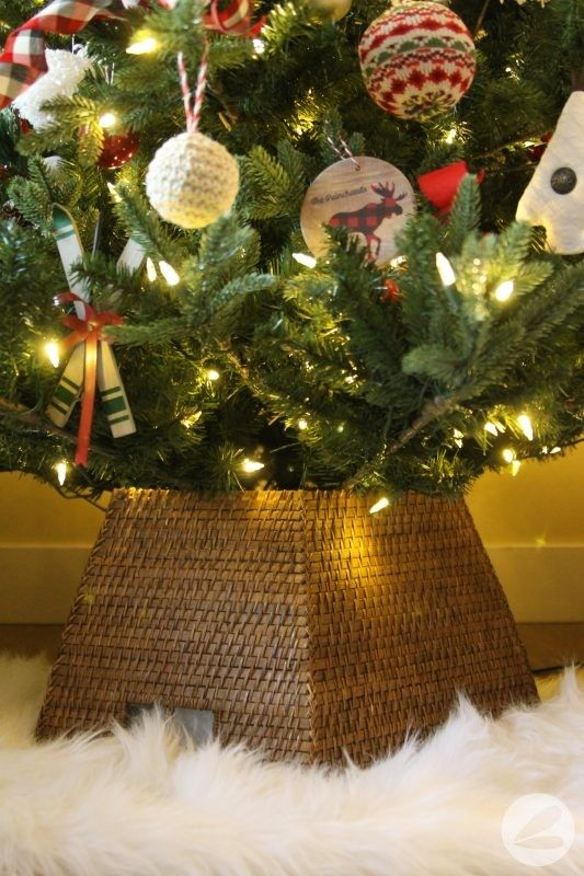 How To Create A Tree Collar For Under 5 Christmas Conifers Cards Candy Trees