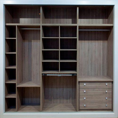 M s de 25 ideas incre bles sobre muebles empotrados en - Estantes para armarios empotrados ...