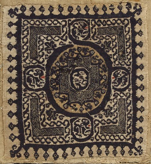 Coptic textile panel, ca. 400 Egypt