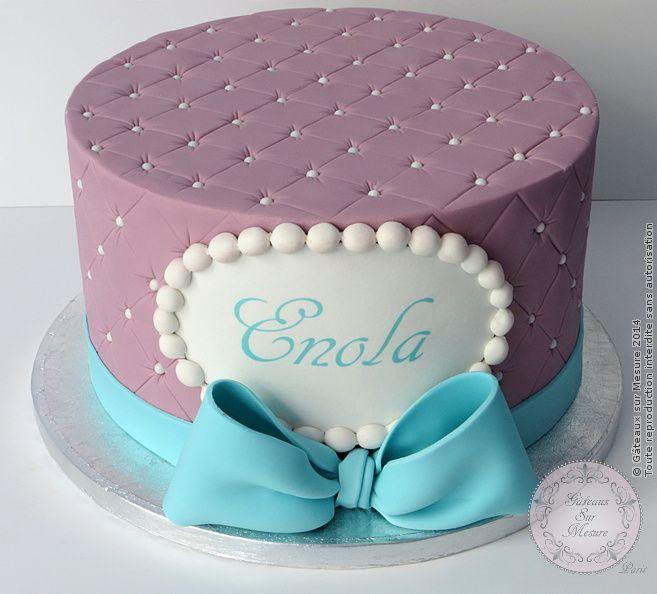 Cake Design Damasse