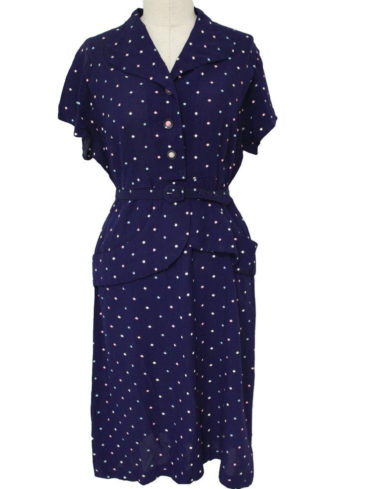 Fashion 1940s Two Female Models Flirty 40s Style Evening: 1950: World War II On Pinterest