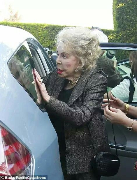 Anne Buydens, 97, looked great as she was helped into a vehicle. The couple married in 1954.