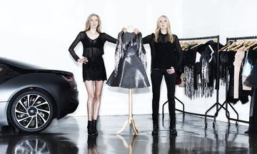 This Dress Made From Cars Is The Stand Out Piece Of London Fashion Week