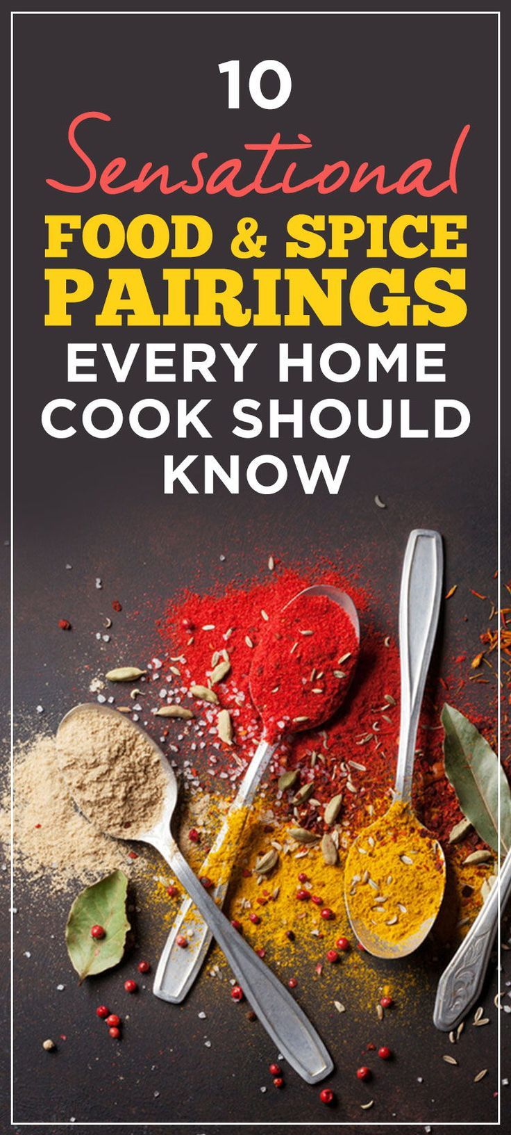 10 Sensational Food And Spice Pairings Every Home Cook Should Know Tasteofhome Delicious Healthy Recipes Food Cooking