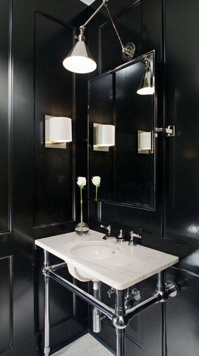 Mejores 13 imgenes de bathroom lighting en pinterest iluminacin bathroom lighting ideas aloadofball Image collections
