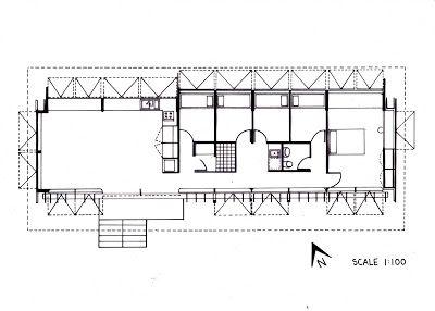 Floor Plan for the Marika-Alderton House