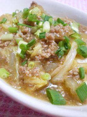 ◆とろっとろ 麻婆白菜◆