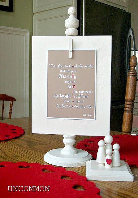 Anthropologie Inspired Valentine Tea Towel - Uncommon Designs...