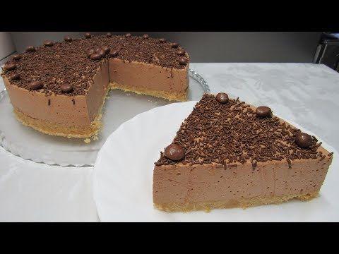 Муссовый ТОРТ без выпечки. 30 минут и десерт к празднику готов - YouTube
