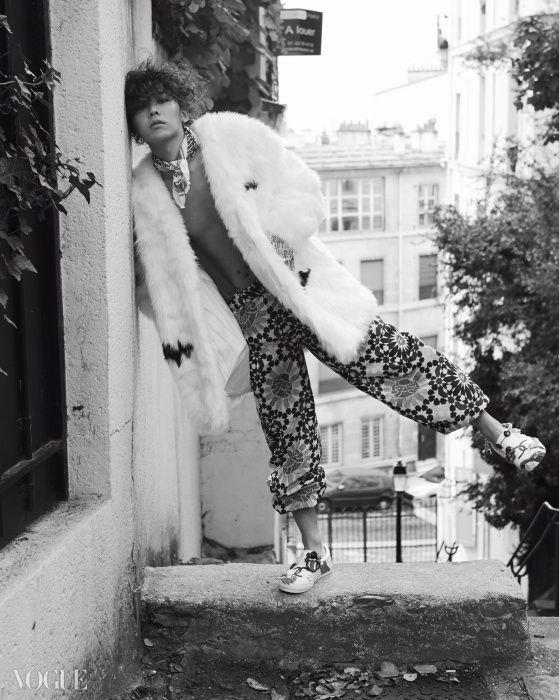 G-Dragon Vogue Korea January 2015 Look 6