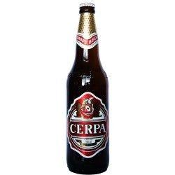 Cerveja Cerpa Draft, estilo Lite American Lager, produzida por Cerpa Cervejaria Paraense, Brasil. 4.5% ABV de álcool.