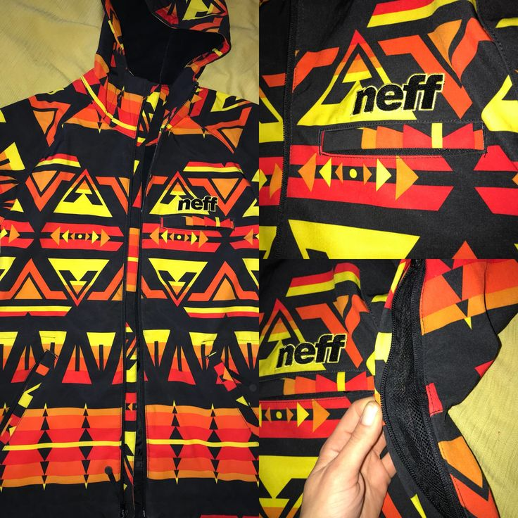 Neff Snowboard Mens Jacket Size S For Sale
