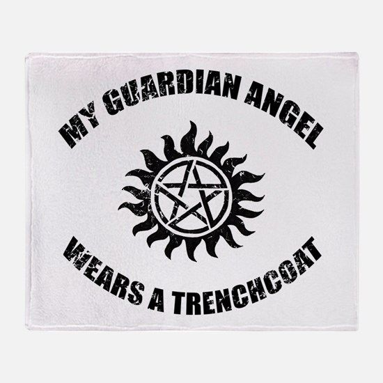 Supernatural Guardian Angel Throw Blanket For Spn Stuff I Need Interesting Guardian Angel Throw Blanket