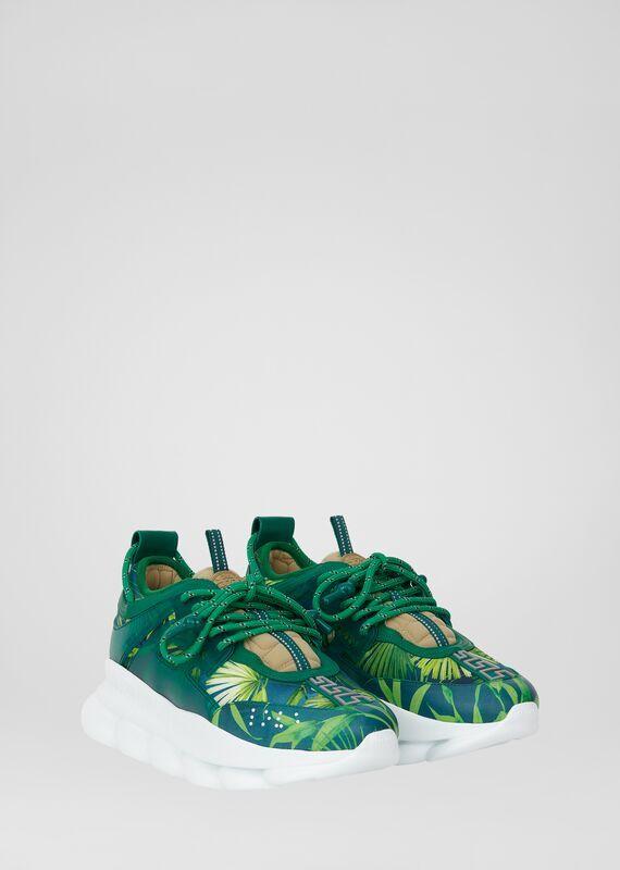 versace sneakers green