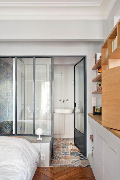 Rénovation : Comment Installer une verrière dans sa Maison (Salle de Bain by Olivier Chabaud Architecte)